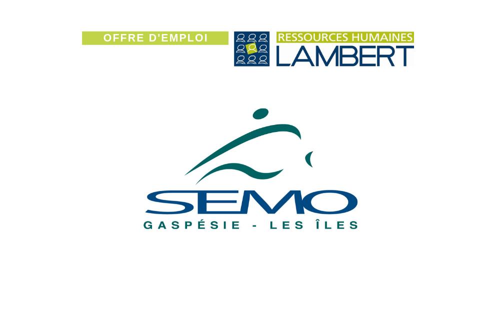 OFFRE D'EMPLOI : DIRECTEUR GÉNÉRAL | SEMO Gaspésie-Les Îles